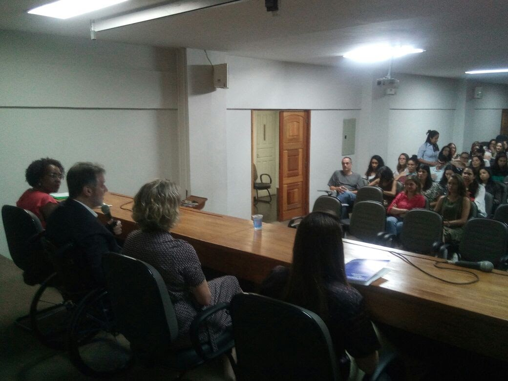 Aula inaugural da primeira turma de Mestrado da Faculdade de Nutrição UFF (2017.2)